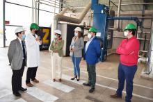 El IRIAF recibe la visita de la Alcaldesa de Puertollano a la Biorrefinería de I+D CLaMber